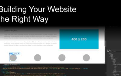 Building Your Website the Right Way