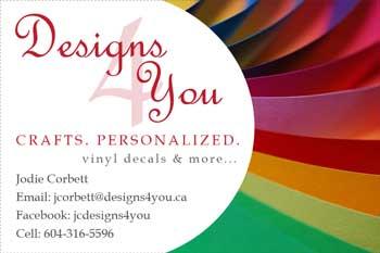 Designs4U Business Card