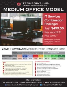 TechPoint Sales Flyer - front