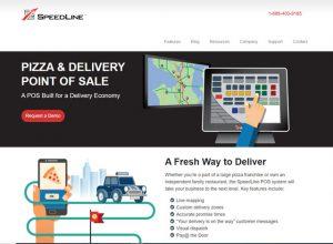 SpeedLine Solutions website