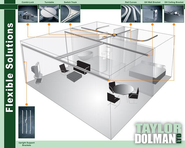 Illustrated Exhibition Panel - Adobe illustrator