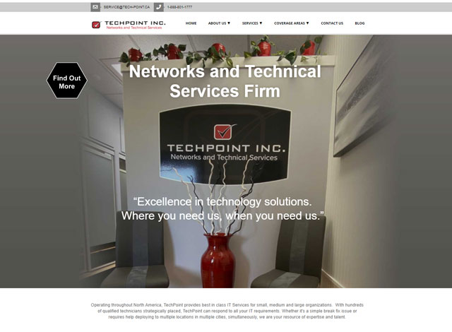 TechPoint website