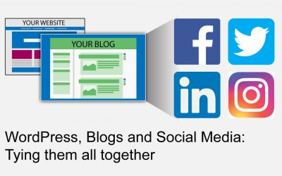 WordPress, Blogs and Social Media: Tying them all together