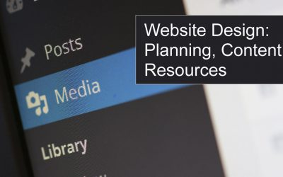 Website Design: Planning, Compiling Content, Organizing Resources