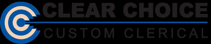 Clear Choice Custom Clerical logo