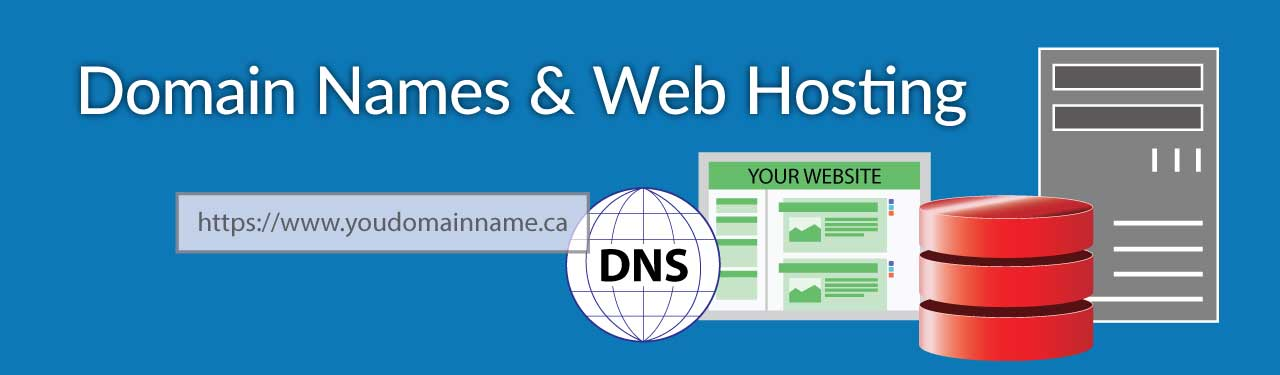Domain names and web hosting services