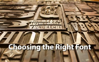 Typefaces: Picking the Right Font