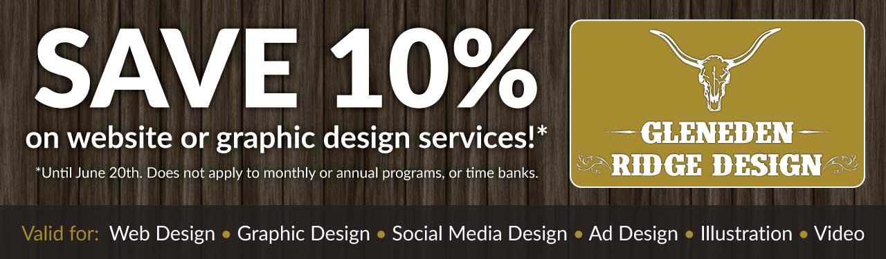 Springtime design savings