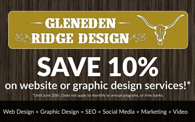 Spring Savings: 10% off website and design services*!