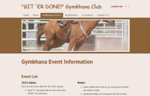 Git 'er Done Gymkhana Club
